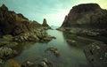 Koh chang trad thailand sea sky rocks in Stock Image
