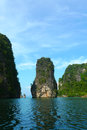 Koh hong island at phang nga bay near phuket thailand in Stock Images