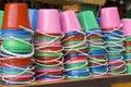 Koh Phangan, Thailand - Drink Buckets Royalty Free Stock Image