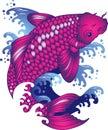 Koi carp tattoo