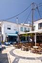 Kokkari on Samos Royalty Free Stock Photo