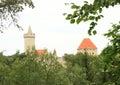 Kokorin castle Royalty Free Stock Photo