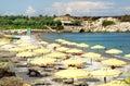 Kolimbia bay at Rhodes Stock Image