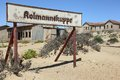 Kolmannskuppe the diamond ghost town Royalty Free Stock Photo