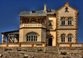 Kolmanskop ghost town Stock Photo