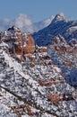 Kolob Canyons Stock Image