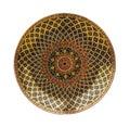 Kolorowy ceramiczny tło Obrazy Royalty Free