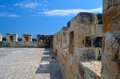 Kolossi castle strategic important fort of medieval cyprus Royalty Free Stock Photos