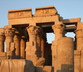Kom Ombo temple detail Royalty Free Stock Photos