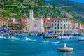 Komiza town in Croatia, Island Vis. Royalty Free Stock Photo