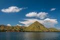 Komodo Dragon Islands in Indonesia Royalty Free Stock Photo