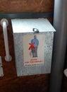 Kompostierung von toilettenanweisungen Lizenzfreies Stockfoto