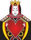Koningin van Harten Stock Foto's