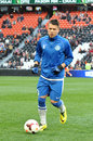 Konoplyanka mit dem ball Stockfotos