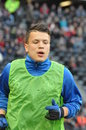 Konoplyanka photo was taken during the match between shakhtar donetsk city and dnepr dnepropetrovsk city at donbass arena stadium Royalty Free Stock Photos