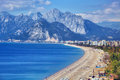 Konyaalti beach, Antalya Royalty Free Stock Photo
