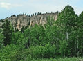 Kootenay highway british columbia canada dutch creek badlands and hoodoos Royalty Free Stock Photography