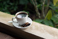 Kopi luwak cup of world s most expensive coffee from bali indonesia Stock Photo