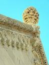 Korcula ancient artwork details,Croatia,7 Royalty Free Stock Photo