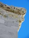 Korcula ancient artwork details,Croatia,12 Royalty Free Stock Photo