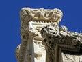 Korcula ancient artwork details,Croatia,13 Royalty Free Stock Photo