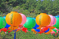 Korea Lantern Royalty Free Stock Photo