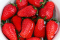 Korea Strawberry Royalty Free Stock Photography