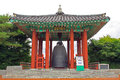 Korea UNESCO World Heritage Sites – Hwaseong Fortress Pavilion and Bell