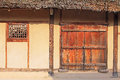 Korea UNESCO World Heritage Sites - Hahoe Folk Village Royalty Free Stock Photo