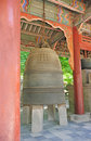 Korean ancient bell Royalty Free Stock Photos