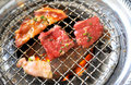 Korean BBQ grill Royalty Free Stock Photo