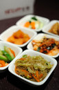 Korean cuisine side dishes Stock Image