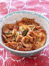 Korean Kimchi with chinese cabbage Royalty Free Stock Photography
