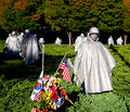 Korean Memorial Royalty Free Stock Images