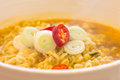 Korean Noodles closeup Royalty Free Stock Photography