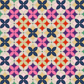 Korean patchwork wrapping cloth pattern Royalty Free Stock Photo