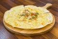 Korean pizza Royalty Free Stock Photo