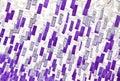 Coreano en violeta