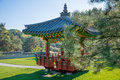 Korean royal pagoda.