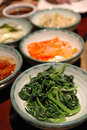 Korean side dishes Stock Image