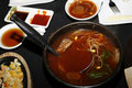 Korean soup Royalty Free Stock Photos