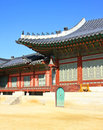Korean temple Royalty Free Stock Photo