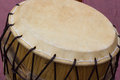 Korean tradional drum a big Royalty Free Stock Photo