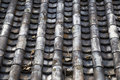Korean traditional style roof