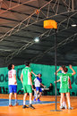 Korfball championship antalya turkey grand games took place in belek in march for a week games held between the university teams Stock Photo