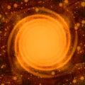 Kosmisk bakgrund Fotografering för Bildbyråer