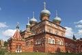 Kostroma, the church of the Resurrection on Debra Royalty Free Stock Photo