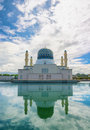 Kota Kinabalu City Mosque, Important Cultural Site in Malaysia Royalty Free Stock Photo