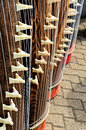 Koto Instruments Royalty Free Stock Photography