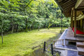 Koto in temple in daitoku ji complex kyoto japan june on june is famous for its beautiful bamboo grove and gardens Stock Photos